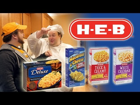 BoxMac 74: Texas HEB Part 3 - Thick & Creamy, White Cheddar, Deluxe, And Dino Shapes