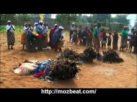 NHAU - dança tradicional de Moçambique