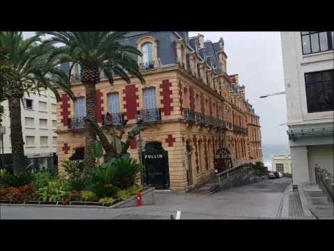 مدينة بياريتز فرنسا   biarritz france
