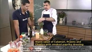 Mathew Gordon :warm Seafood Salad 15.02.2012