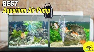 Best Aquarium Air Pump In 2019 – Top High Performance Pump For Aquarium