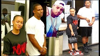 Karrueche Tran & Victor Cruz romantic lunch w/Chris Brown DRAMA