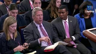 Sarah 'Huckabee' Sanders Press Briefing on John Kelly Civil War Comments, Papadopoulos & Manafort