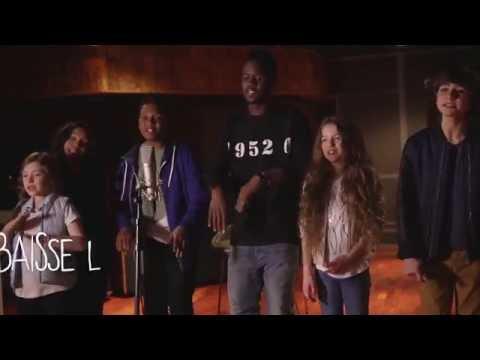 KIDS UNITED - Sur Ma Route feat. Black M (Lyrics video)