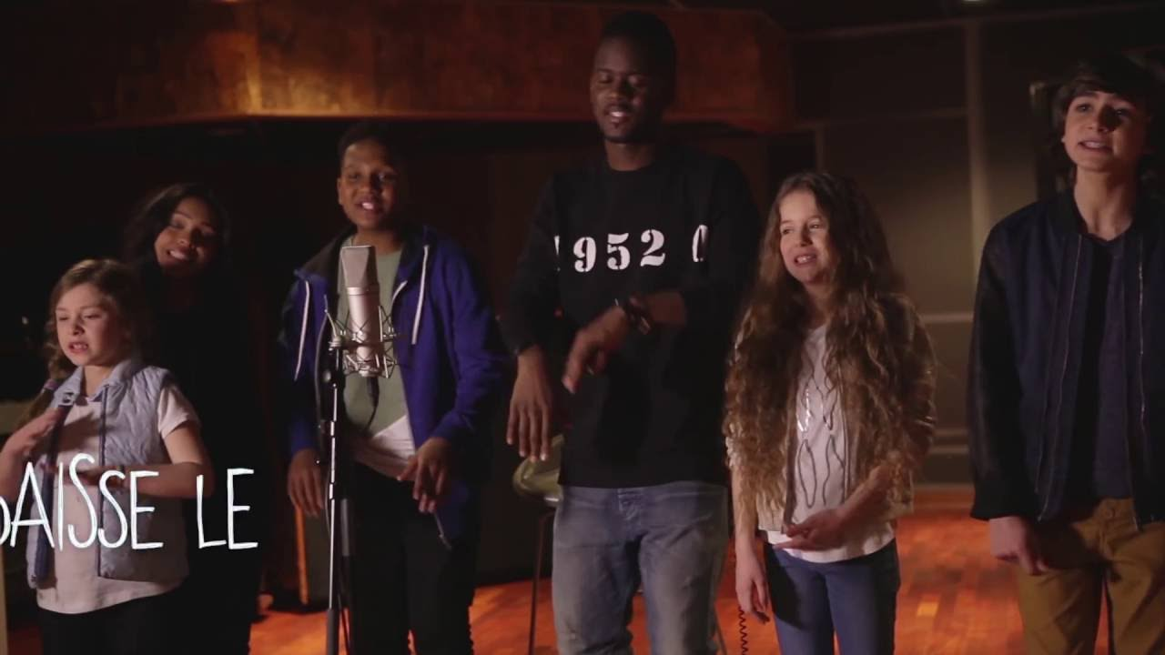 KIDS UNITED - Sur Ma Route feat. Black M (Lyrics video)