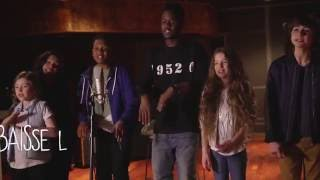 Kids United - Sur Ma Route - En duo avec Black M (Lyrics Video - Officiel)(Kids United - Sur Ma Route - En duo avec Black M (Lyrics Video - Officiel) - Extrait de l'album
