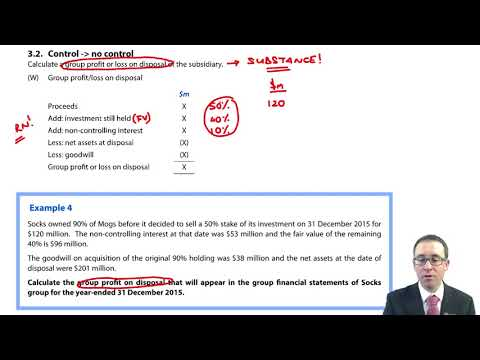 Step disposals - Control to no control - ACCA (SBR) lectures