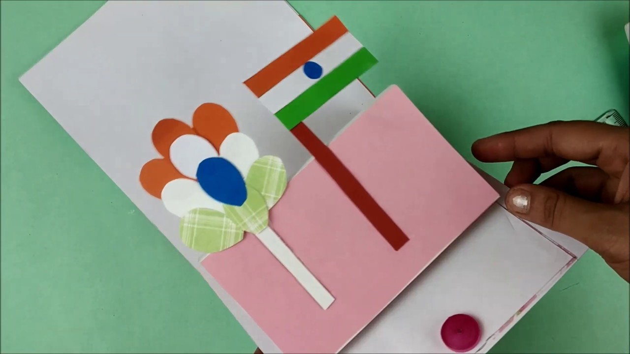 independence day  republic day card making diy republic