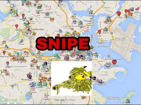 Pokemon Go Sniping  on Android wJoystick, current events and  google play services downgrade status