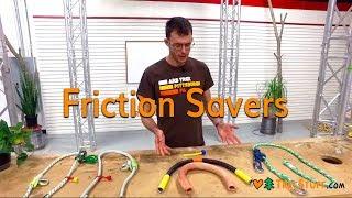 Arborist//Recreational Tree Climber Cambium//Friction saver