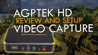 AGPtek HD Game Capture Review and SETUP GUIDE + Sample gameplay