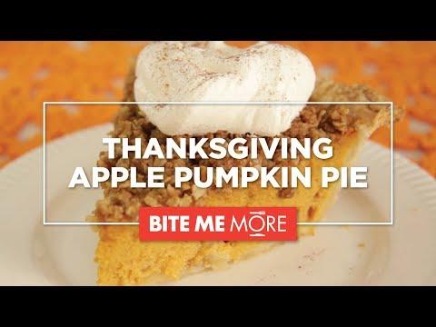 DESSERT RECIPE - Easy Apple Pumpkin Pie