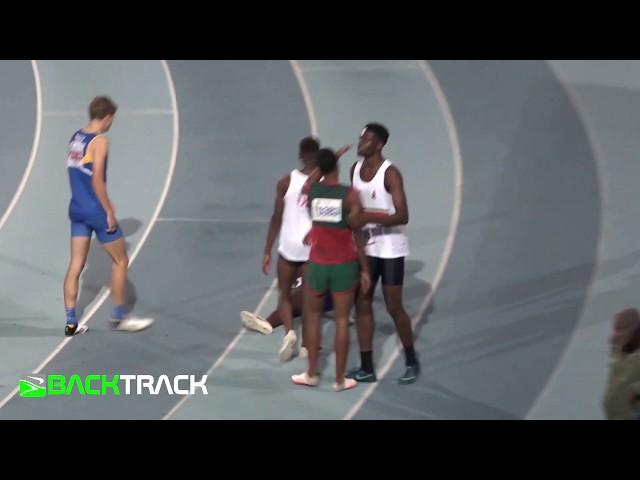 Benjamin Richardson boys u18 200m 21.01