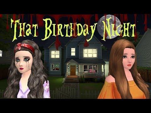 Avakin Life Short Horror Film : That Birthday Night