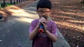 Cold Water Cover sing by 8 year old boy