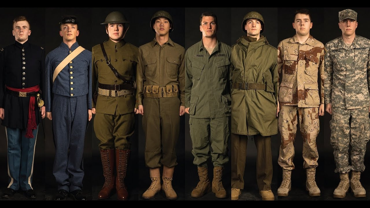 The Citadel History: Military Uniforms (1864-Present ...
