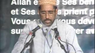 Nazam - Faiz Zeadally ( Session 1 - Jalsah Salana Mauritius )