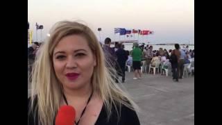 To live του e-evros.gr στην Alexpo 2016 στο λιμάνι της Αλεξανδρούπολης