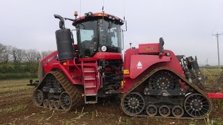 Busy Farm - Maize Harvesting, Hedge Trashing, Case Quad cultivating etc. . .