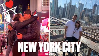 TRAVELING TO NEW YORK CITY FOR THE FIRST TIME | NEW YORK CITY TRAVEL MOVIE
