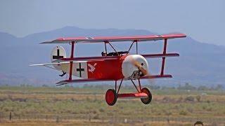 Scale triplane doing 3D aerobatics? Yup! 4th in my Gilman Springs R...