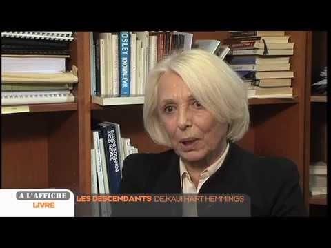 """Jacqueline Chambon parle du livre """"Les Descendants"""""""