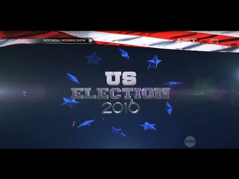 Pesta Demokrasi Amerika Serikat Dalam US Election 2016