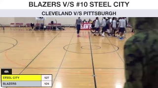 Cleveland Blazers v/s Pittsburgh Steel City Yellow Jackets
