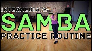 Intermediate International Samba Solo Practice Routine