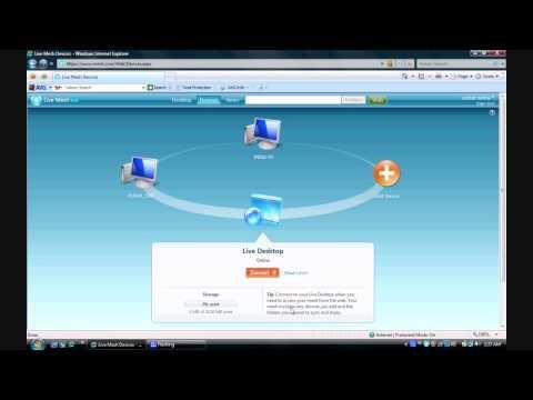 "Microsoft Live Mesh ""Synchronizing life"""