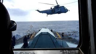 Focsle Vertrep CH-124 HMCS VANCOUVER