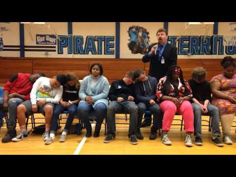 SZELES High School Hypnotist Wheatland Union High School Assembly