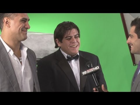 Alberto Del Rio and Ricardo Rodriguez  in Cleveland