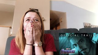 AVENGERS ENDGAME TRAILER REACTION #2