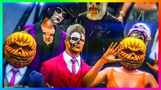 GTA ONLINE ULTIMATE HALLOWEEN 2016 DLC PARTY BEST OUTFITS, RARE/EXPENSIVE VEHICLES & MORE! (GTA 5)