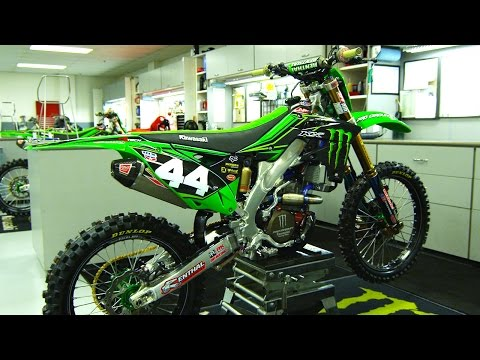 Inside Adam Cianciarulo's Factory Monster Energy Pro Circuit Kawasaki - Motocross Action Magazine