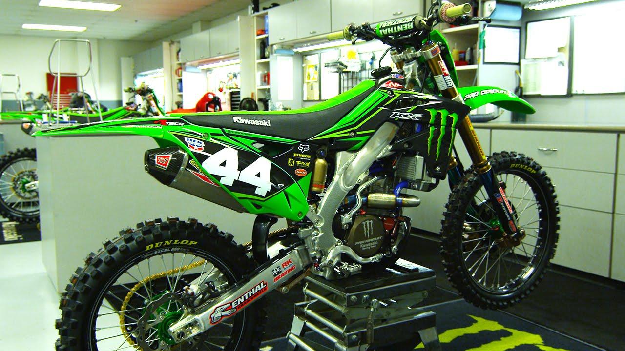 Pro Circuit Kawasaki Gear