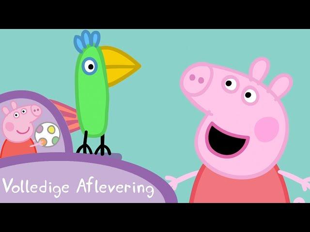 Peppa Pig Nederlands Compilatie Nieuwe Afleveringen | Polly Papegaai | Tekenfilm | Peppa de Big