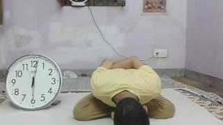 Longest Time Holding 'Yoga Mudrasana' Psychic Union Pose.