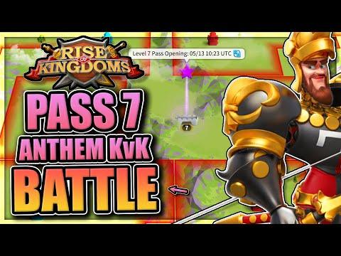 Pass 7 KvK Battles in Rise of Kingdoms [Heroic Anthem KvK on my Restart Project]