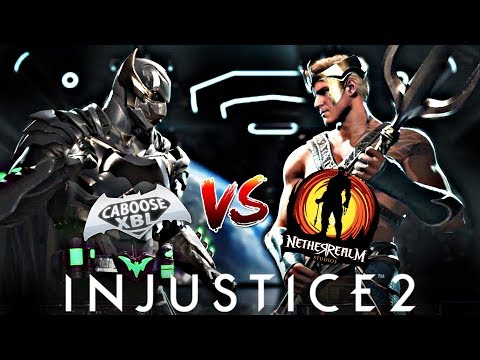 Injustice 2 Online - CabooseXBL VS NetherRealm Studios Developer Derek Kirtzic!
