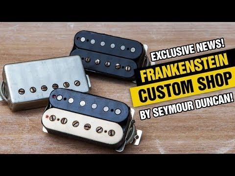 Exclusive! Frankenstein Custom Shop Pickup From Seymour Duncan