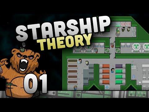 Vamos conquistar o espaço! (Novo Patch) | Starship Theory #01 - Gameplay Português PT-BR