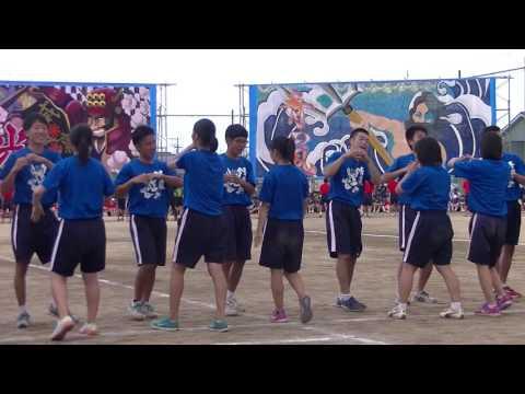 2016.9.8今治西高運動会 フォークダンス1