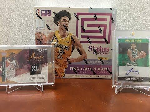 2017-18 Panini Status Hobby Basketball - 1 HIT