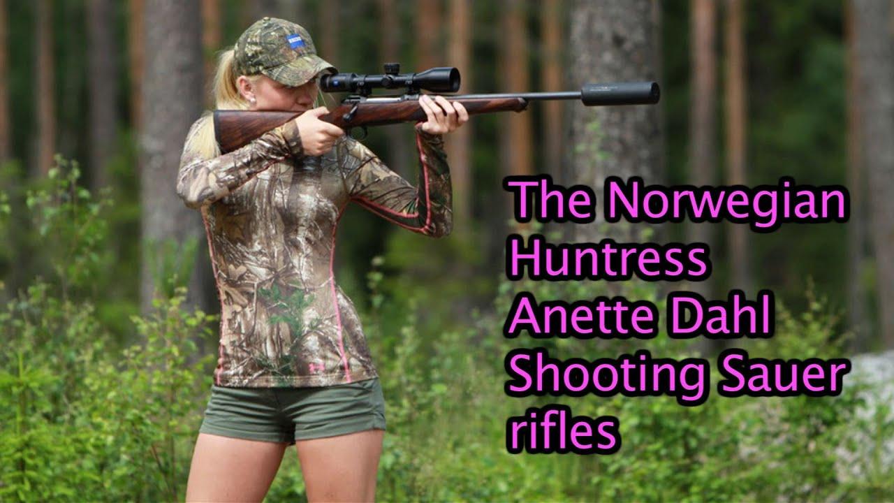 The Norwegian Huntress Shooting Sauer Rifles By Kristoffer