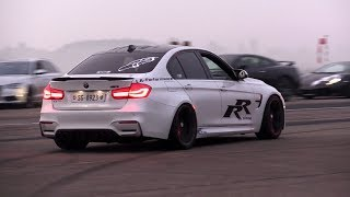 650HP BMW M3 F80 LA Performance - INSANE Revs, Donuts & Drag Racing!