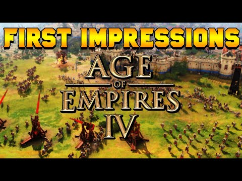 Age of Empires 4 Beta Test: First Impressions (Gameplay)