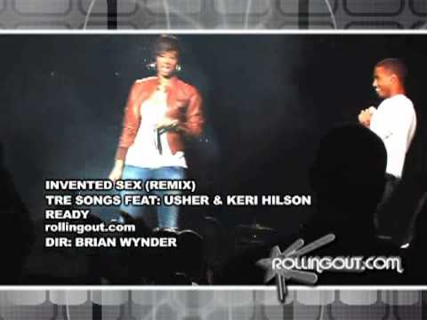 TREY SONGZ BRINGS OUT USHER & KERI HILSON TO PERFORM INVENTED SEX REMIX