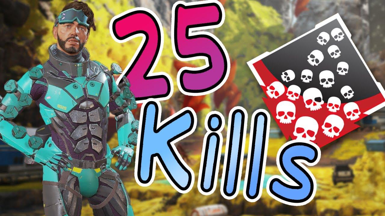 25 kills in 13min